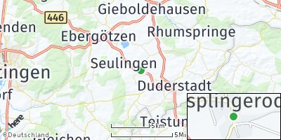 Google Map of Esplingerode