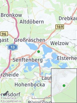 Here Map of Sedlitz