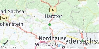 Google Map of Niedersachswerfen