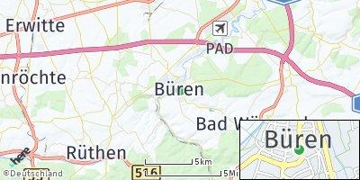 Google Map of Büren