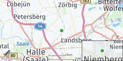 Google Map of Niemberg