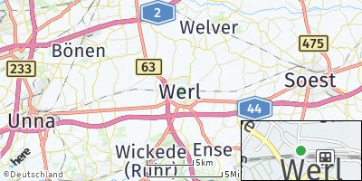 Google Map of Werl