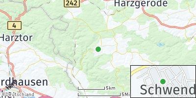 Google Map of Schwenda