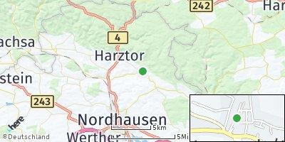 Google Map of Neustadt / Harz