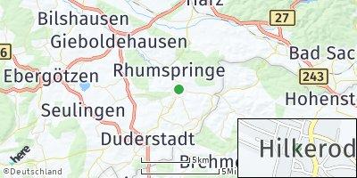 Google Map of Hilkerode