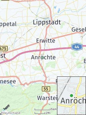 Here Map of Anröchte