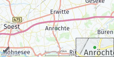Google Map of Anröchte
