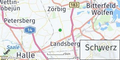 Google Map of Schwerz