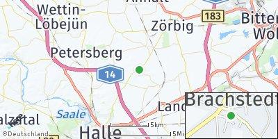 Google Map of Brachstedt
