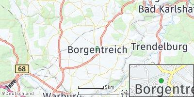 Google Map of Borgentreich