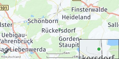 Google Map of Rückersdorf