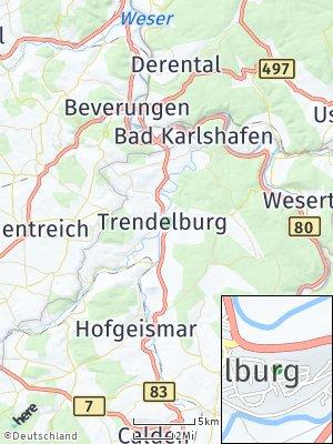 Here Map of Trendelburg