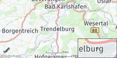 Google Map of Trendelburg