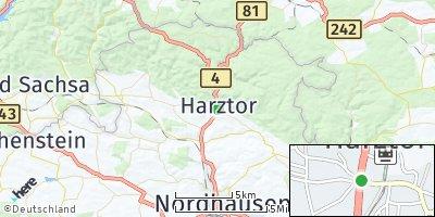 Google Map of Ilfeld