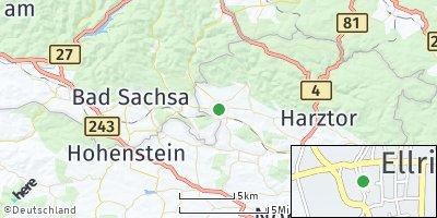 Google Map of Ellrich