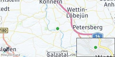 Google Map of Wettin