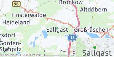 Google Map of Sallgast