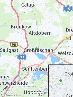 Here Map of Großräschen