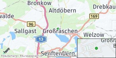 Google Map of Großräschen