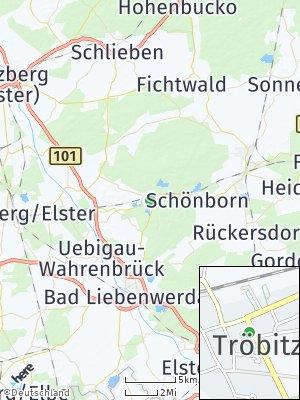 Here Map of Tröbitz