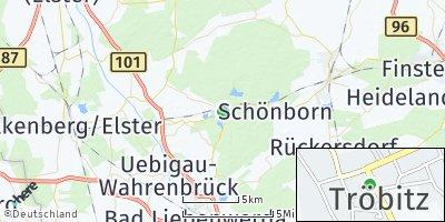Google Map of Tröbitz