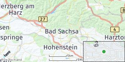 Google Map of Bad Sachsa