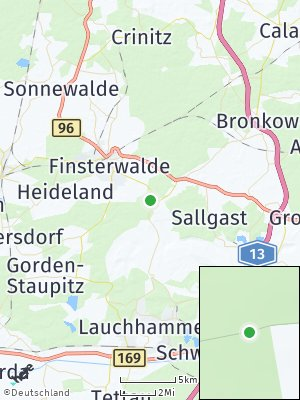 Here Map of Lichterfeld-Schacksdorf
