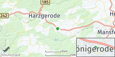 Google Map of Königerode