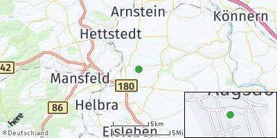Google Map of Augsdorf