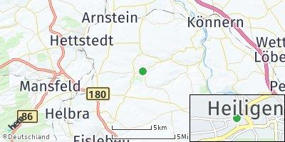 Google Map of Heiligenthal