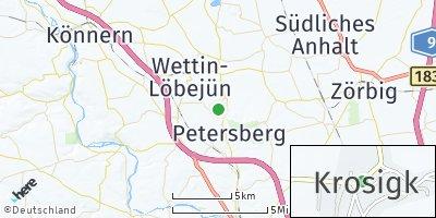 Google Map of Krosigk