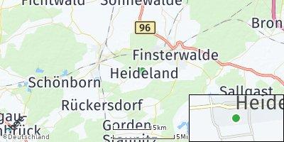 Google Map of Heideland