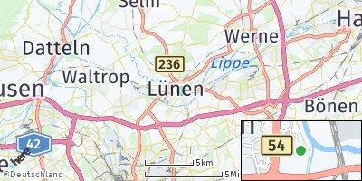 Google Map of Lünen
