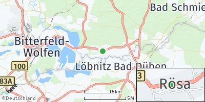 Google Map of Rösa