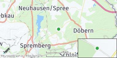 Google Map of Hornow-Wadelsdorf