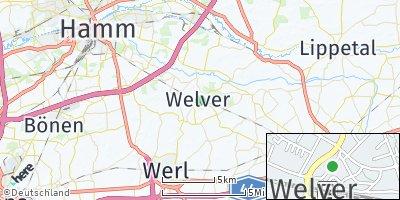 Google Map of Welver