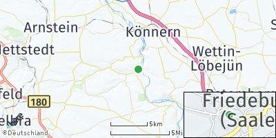 Google Map of Friedeburg