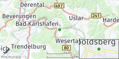 Google Map of Wahlsburg