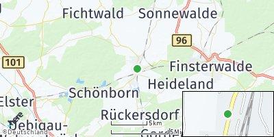 Google Map of Doberlug-Kirchhain