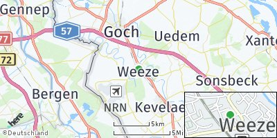 Google Map of Weeze