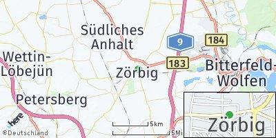 Google Map of Zörbig