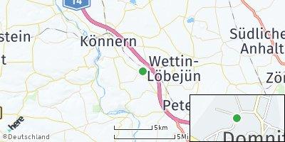 Google Map of Domnitz