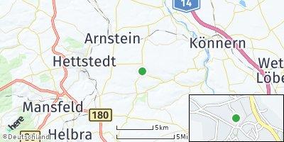 Google Map of Gerbstedt