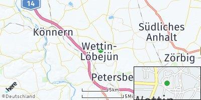 Google Map of Löbejün