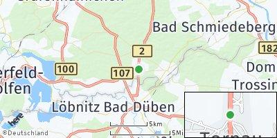Google Map of Tornau