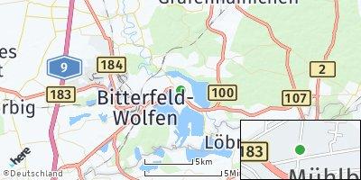 Google Map of Mühlbeck