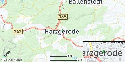 Google Map of Harzgerode