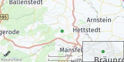 Google Map of Bräunrode