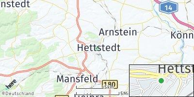 Google Map of Hettstedt