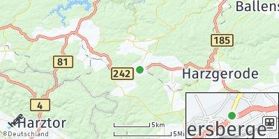 Google Map of Güntersberge